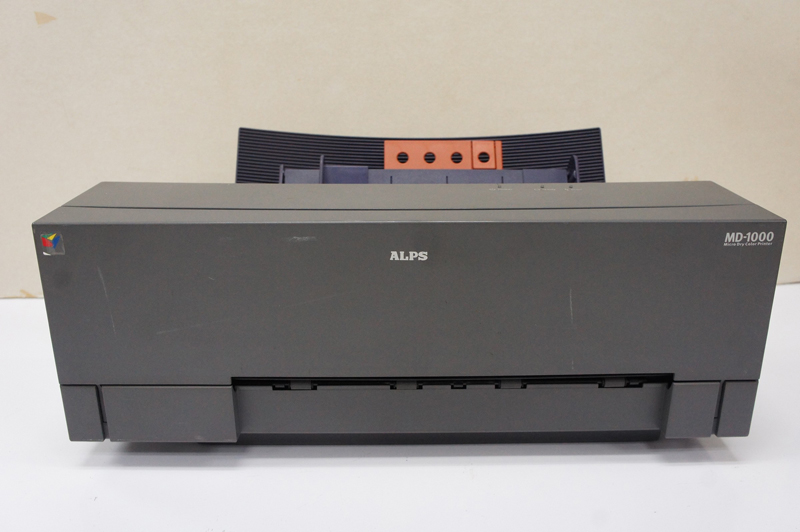 Refurnbished ALPS MD-1000 MD 1000 Thermal Water Decal Sticker Printer 67B0356H bandcount 9475